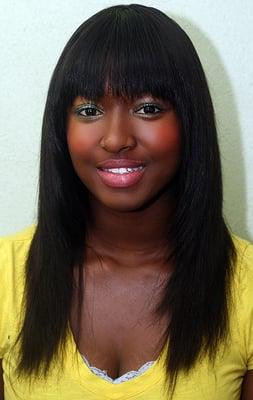 African American Full Sew in Hair weaves- San Diego. With Virgin