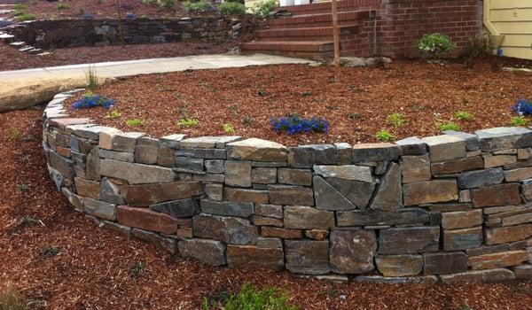 Dry stack retaining wall Yelp