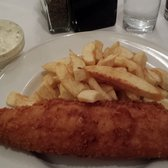Huge portion of fish and chips