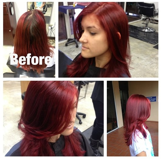 Red Hair Color Correction By Taryn G  Yelp