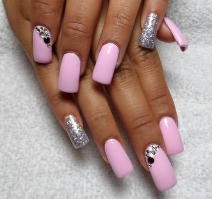 black acrylic nail designs  nail designs hair styles
