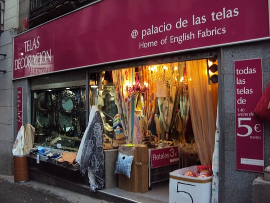 Palacio de las telas home decor madrid spain yelp - Outlet telas madrid ...