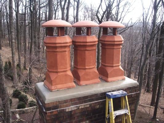 Decorative Clay Chimney Caps Yelp