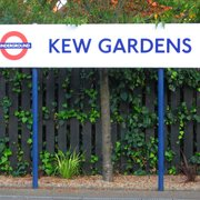 Kew Gardens Station, London, UK