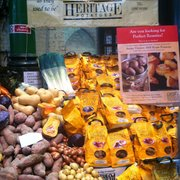 Heritage potatoes