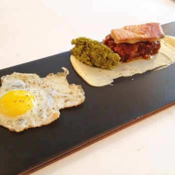 Ham and Eggs (Part of the Jubilee inspired tasting menu)