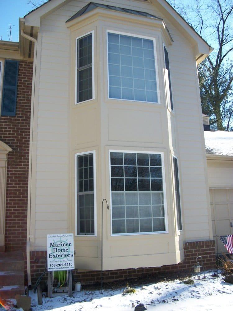 Double Bay Window : Double bay windows and trim yelp