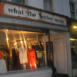 What the Butler Wore, London