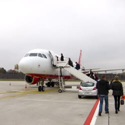 Boarding Air Berlin flight from Terminal C