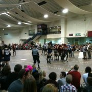 Roller Derby in West Brompton Hall