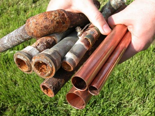 Untitled pex versus copper in attic for Copper pipe vs pex