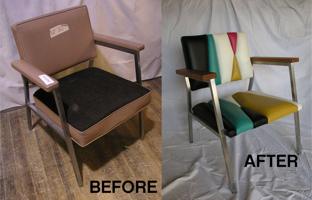 old office furniture makes really cool upcycled home