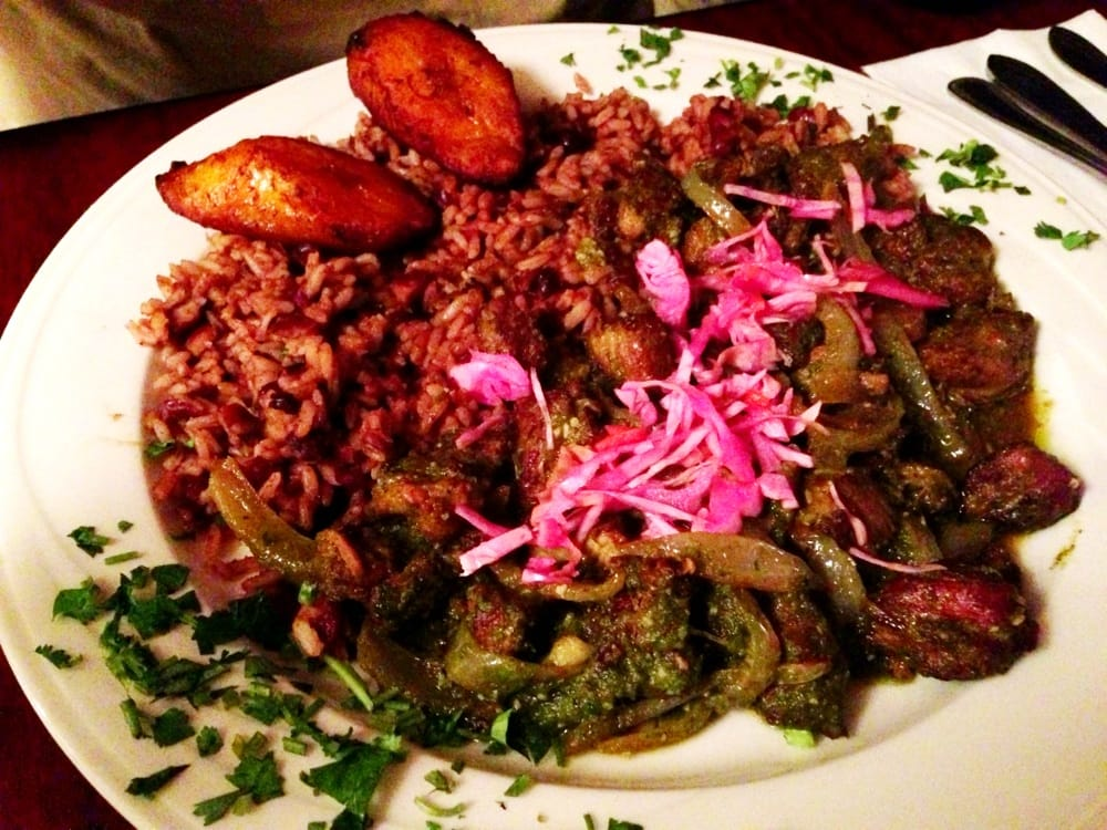 how to make haitian red beans and rice