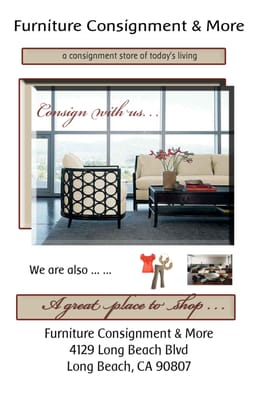 Furniture Consignment & More Long Beach CA