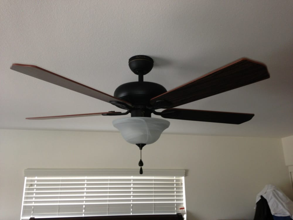 "... Breeze ""Crosswinds"" 52inch ceiling fan bought it at Lowe's. 