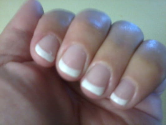 Gel manicure on natural nails | Yelp