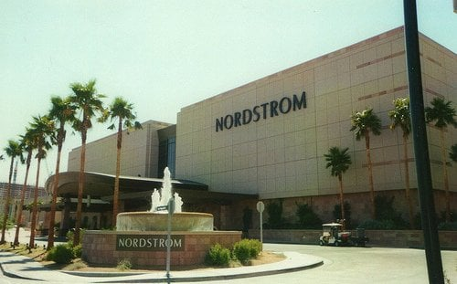 Nordstrom Shoes Department