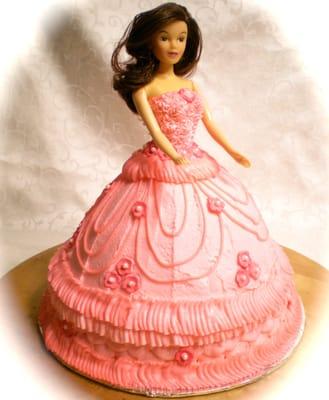 Doll Dress Cake- Birthday  Yelp