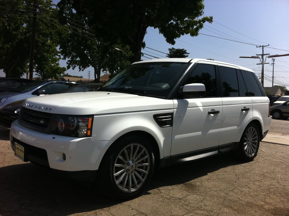 Range Rover With Full Limo Tint High Privacy Amp High Heat
