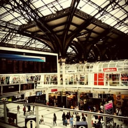 Liverpool Street Station from above