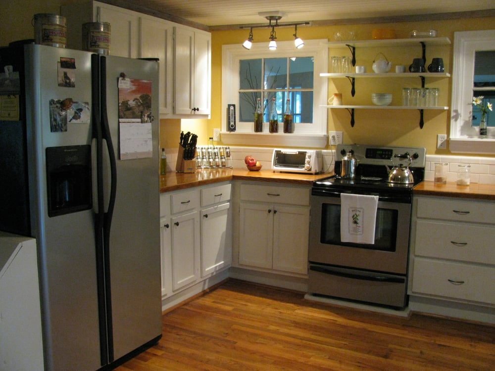 1940 39 s farmhouse kitchen remodel yelp for 1940s kitchen cabinets