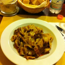 Pappardelle with wild pork ragu