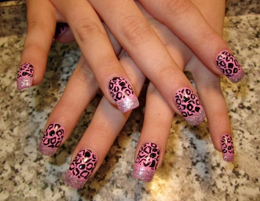 The Appealing Cheetah nail designs Picture