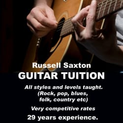 Russell Saxton Guitar Tuition, Ilkeston, Derbyshire
