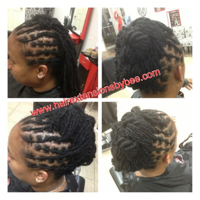 Natural dreads washed conditioned palm roll twisted for Benite home depot