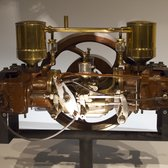 (One of) the first two-cylinder engine(s).