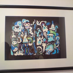 Another Jon Burgerman piece, also on sale.