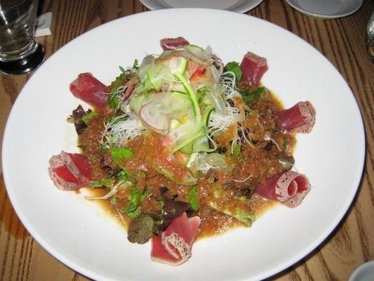 Sashimi salad with matsuhisa dressing really good yelp for Sashimi dressing