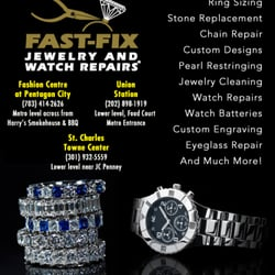 Fast fix jewelry and watch repairs jewelry repair for Fast fix jewelry repair