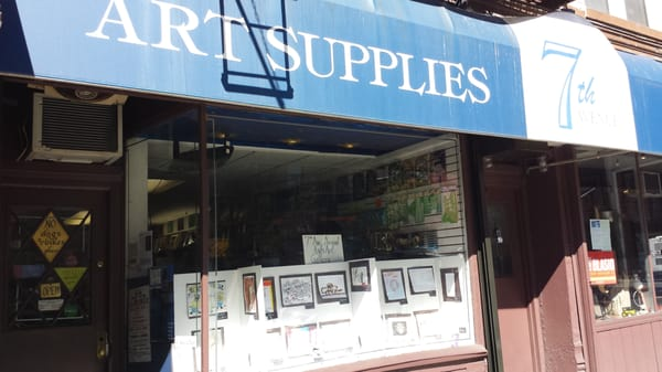 Seventh ave art supplies closed park slope brooklyn for Craft stores in brooklyn