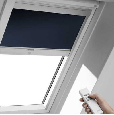 Motorized skylight shade yelp Velux skylight shade