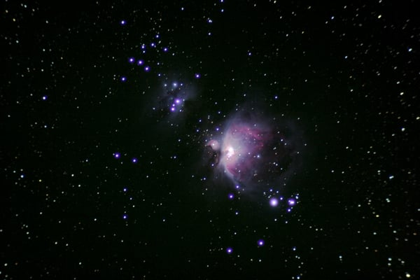 The Orion Nebula through my 80mm telescope. | Yelp