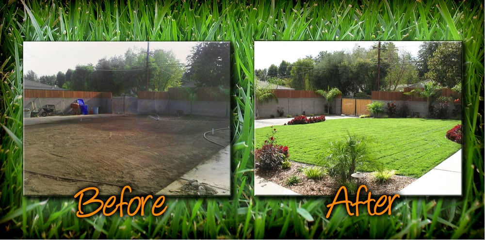 our backyard before and after the before doesn 39 t do it justice it was