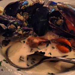 Sorry, can't stop - capers & cream mussels with thyme, easily one of the best dishes I've ever had.