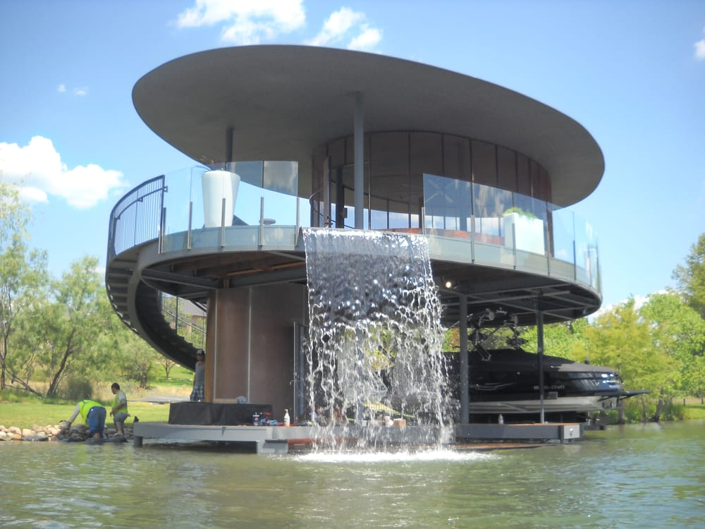 Custom Boat Dock Water Feature Yelp
