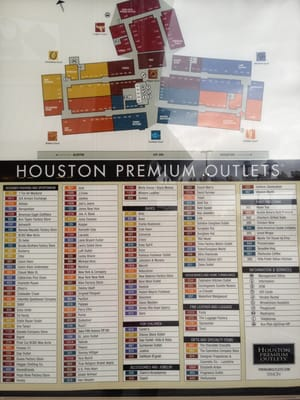 Find the best Premium outlets around Houston,TX and get detailed driving directions with road conditions, live traffic updates, and reviews of local business along the way.