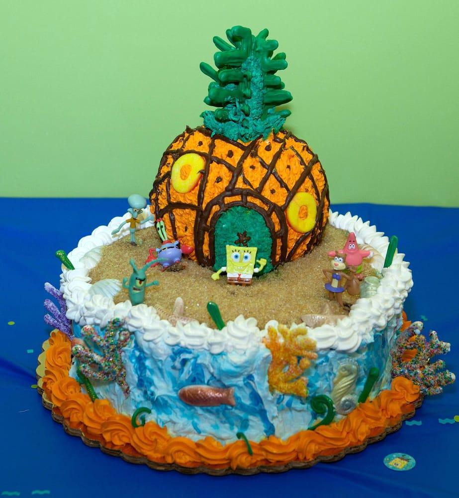 Cake Images For Yogesh : Spongebob cake Yelp