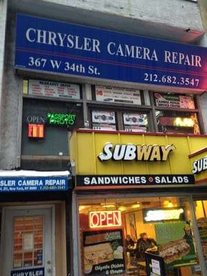 Chrysler camera repair service flyttat hell 39 s kitchen for 111 8th avenue 9th floor new york ny 10011