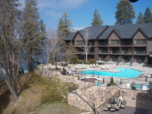 Lake Arrowhead Spa Pool Area