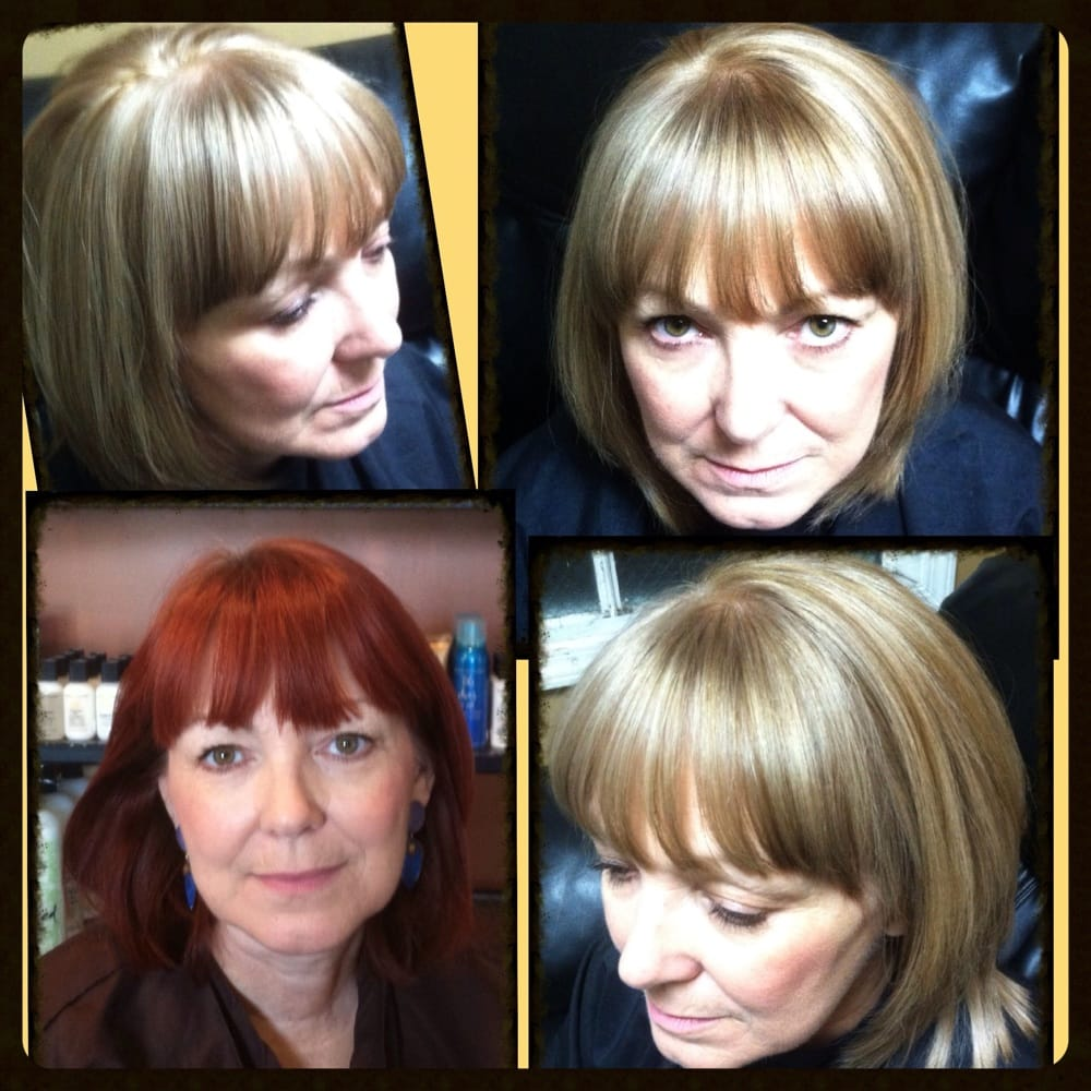 Color CorrectionBefore Red To Soft Golden Beige Blonde ByMASTERSTYLIST SIL