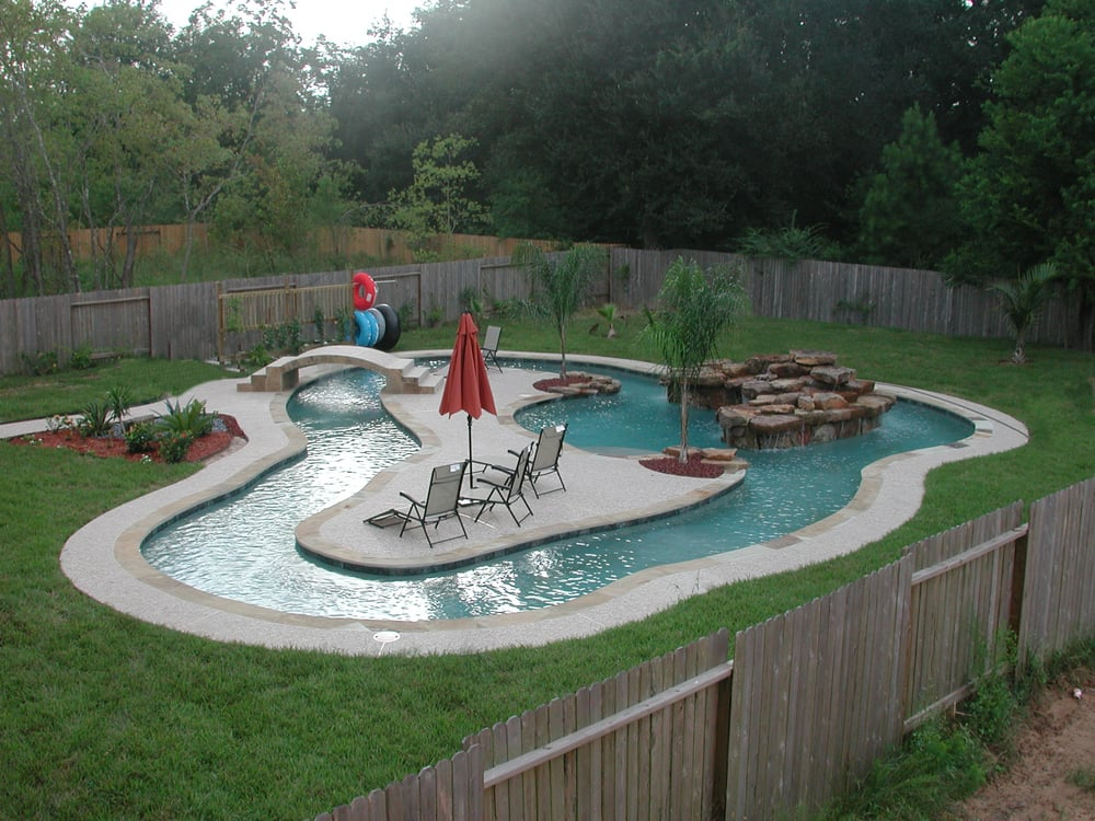 Pools For Your Backyard : Your own personal lazy river in your backyard!!  Yelp