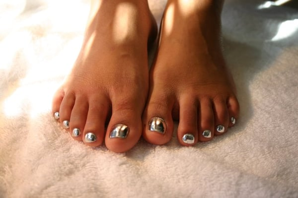 Pedicure+designs+for+fall