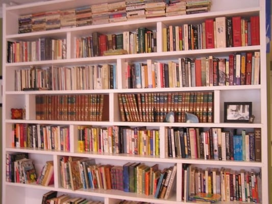 todd 39 s floor to ceiling book shelves yelp. Black Bedroom Furniture Sets. Home Design Ideas