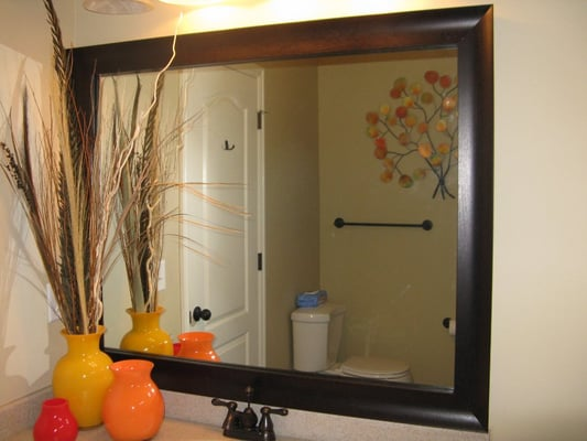 Mirror Frame Kits For Bathroom Mirrors Bathroom Mirror Frame Mirror Frame  Kit Modern Mirror .