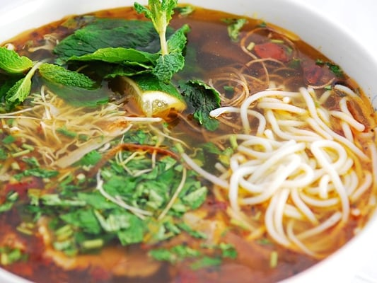 Bun Bo Hue- Hue Style Spicy Beef Noodle Soup | Yelp
