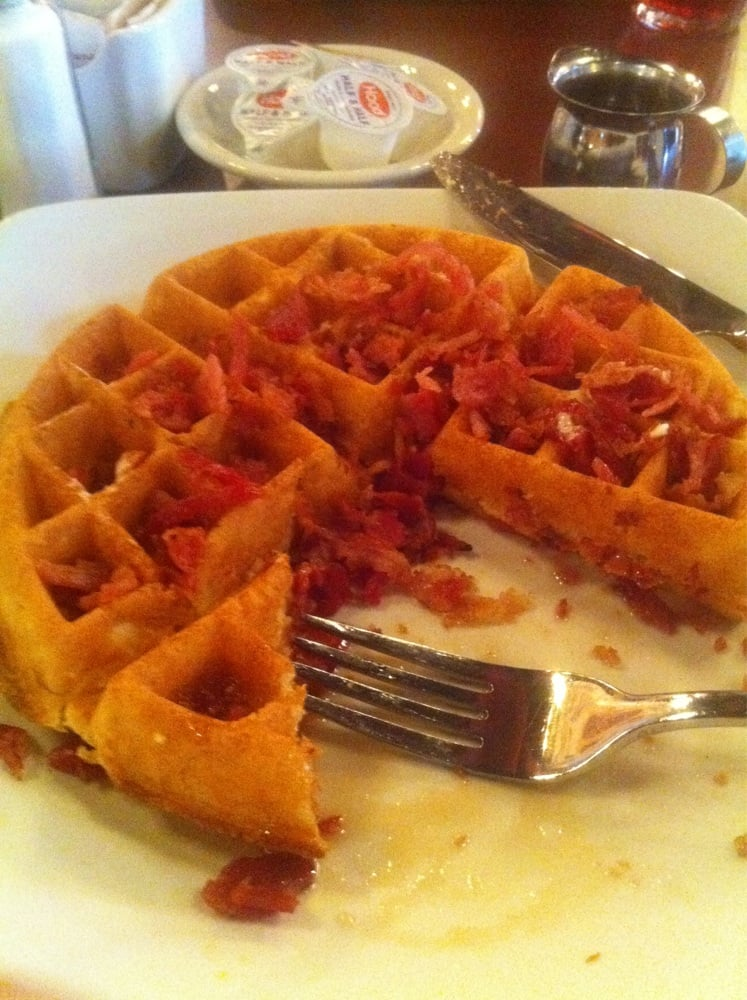 Crispy Cornmeal-Bacon Waffles Recipes — Dishmaps